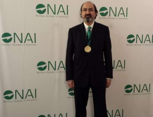 Professor Nabeel Riza Inducted into the USA National Academy of Inventors (NAI) in an Official Ceremony