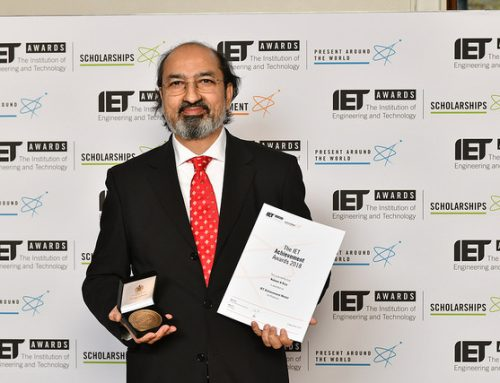 Professor Nabeel Riza awarded  2018 International IET Achievement Medal